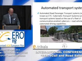 Embedded thumbnail for Ημερίδα «ITS eCall and Road Safety», 25/04/2016, Session 4: Good ITS practices